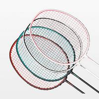 采用碳素纤维材质:dooot全碳素羽毛球拍 上架有品