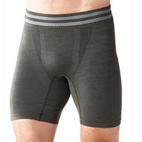 Smartwool 男士PhD功能性无缝平角内裤-6英寸 石墨灰 SW016002 S