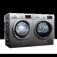 8公斤洗涤+8公斤烘干: SIEMENS 西门子 WM12P2R88W+WT46G4080W 洗衣机 烘干机定制套装上架