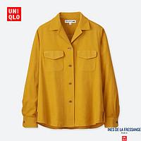 女装 灯芯绒衬衫(长袖) 410241 优衣库UNIQLO