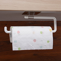 厨房用纸抹手纸巾架挂架吸壁式卷纸架壁挂厨房纸悬挂置物架免打孔