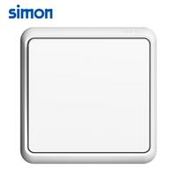 西蒙开关插座家用5五孔二三插E7雅白色智能USB暗装插座面板多孔 一开单控开关