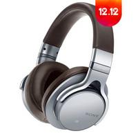索尼(SONY)MDR-1ABT 触控高品质 无线立体声耳机 黑色 蓝牙 银色