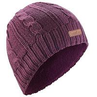 成人滑雪帽CABLE STITCH GREY