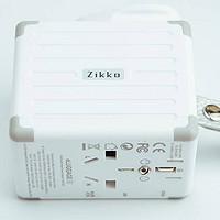 专业安全,全球最优,Zikko eLUGGAGE X 全球通用转换插头试用