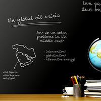 加厚黑板贴纸墙贴可移除儿童涂鸦墙教学培训班可擦写黑板墙纸自粘