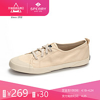 SPERRY/斯佩里女鞋 春夏新品透气舒适平底时尚休闲帆布鞋