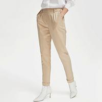 女式通勤烟管裤