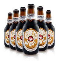 日本进口精酿常陆野猫头鹰白啤 IPA 拉格 咖啡世涛黑啤贺正啤酒 6瓶常陆野猫头鹰咖啡世涛黑啤