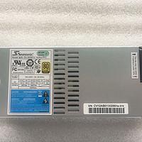 海韵 Seasonic  SS-350M1U  FLEX电源 配万由8bay机箱。