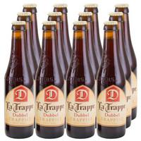 荷兰进口啤酒荷兰修道院康文教堂双料啤酒latrappedubbel330ml*12瓶
