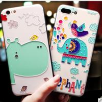 手机壳硅胶_苹果xiphone7plus硅胶软全包日韩可爱卡通-阿里巴巴