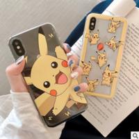 个性卡通iPhone7/8plus手机壳适用苹果xs max/xr透明6s软壳男女潮