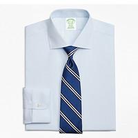 BrooksBrothers/布克兄弟男士修身Supima棉免烫衬衫1000062023