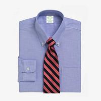 BrooksBrothers/布克兄弟男士扣结领Supima棉免烫衬衫1000001938