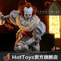 预定定金HotToys小丑回魂2潘尼怀斯1:6比例珍藏人偶