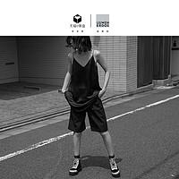 【预售】刘雯联名款19新品廓形吊带短连衣裙
