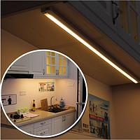 LED橱柜灯感应灯触摸柜底灯吊柜灯鞋柜书柜无需变压器厨房灯