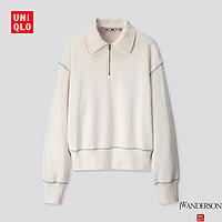 【设计师合作款】女装半拉链运动衫(长袖)421585优衣库UNIQLO