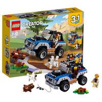 LEGO乐高创意百变系列3合1儿童积木拼插玩具7岁-12岁20181月新款荒野大冒险31075