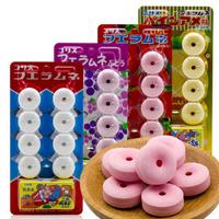 可利斯水果味口哨糖22g/板日本进口休闲零食糖果葡萄味