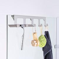 挂衣钩淋浴房玻璃卫生间悬挂毛巾挂钩单个勾免打孔304不锈钢排钩