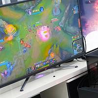 好色之徒 篇十九:43寸梦幻巨屏:华硕ROG XG438Q显示器