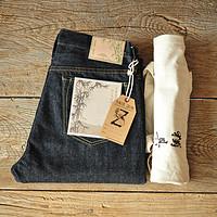 【沾酱】SZ003竹节养牛发烧友赤耳14.5盎司牛仔裤复古原牛