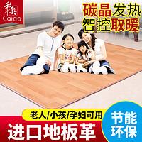 彩奥韩国碳晶地暖垫电热地毯客厅地板发热地垫移动加热地热垫家用