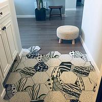 北欧入户门垫地垫门口玄关丝圈脚垫可剪裁地毯进门网红家用定制