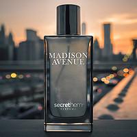 他秘麦迪逊大道流沙金淡香水男士都市经典香氛辛香木香调持久留香