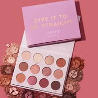 Give It To Me Straight Neutral Pink Eye shadow Palette