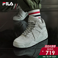 FILA斐乐官方篮球鞋男2019冬季新款男鞋运动高帮篮球文化鞋CAGE