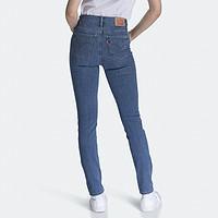 Levis李维斯700系列女士新款721高腰紧身窄脚牛仔裤