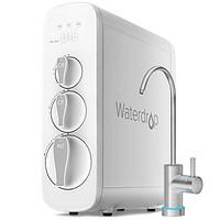 WaterdropROReverseOsmosisDrinkingWaterFiltrationSystem,NSFCertified,TDSReduction,400GPDFastFlow,Tankless,Compact,SmartFaucet,1:1DrainRatio,ULListedPower,USATech,WD-G3-W
