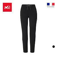 法国觅乐MILLET女士弹力防泼水运动长裤柔软透气休闲卫裤MIV8555