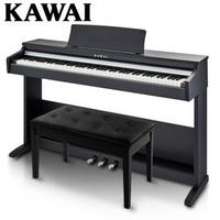 卡瓦依(KAWAI)电钢琴88键重锤KDP88卡哇伊电子数码钢琴成人儿童初学专业家用标配三踏板+双人琴凳礼包