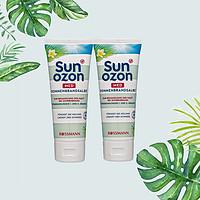 德国SunozonMED晒后修复膏舒缓稳定儿童敏感肌肤可用75ml/支*2