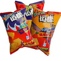 山西特产运康锅巴组合装多口味混装128g*9袋零食小吃休闲食品