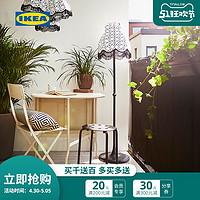IKEA宜家MARIUS玛留斯凳现代简约轻便黑色白色餐厅可摞叠