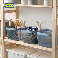 IKEA宜家RISATORP瑞沙托篮筐现代北欧厨房装饰收纳