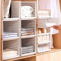 衣柜分层隔板收纳神器衣橱收纳箱塑料整理箱抽屉式大号柜子分层架