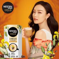 雀巢咖啡(Nescafe)茶咖啡拿铁金牌路意罗士茶咖啡拿铁速溶花式咖啡8条x19g