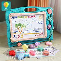 儿童磁性画板写字板大号磁力涂鸦板彩色幼儿宝宝1-2-3岁玩具女孩