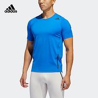 阿迪达斯官网adidas男训练运动短袖T恤FJ6146FL4353