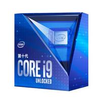 英特尔(Intel)i9-10900K酷睿十核盒装CPU处理器I9-10900K10核20线程3.7GHz