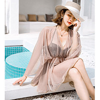 泳衣女仙女范三件套分体性感比基尼遮肚显瘦韩国ins温泉保守泳装