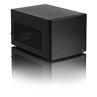 FractalDesignNODE3046盘位NASITX黑色白色迷你型机箱