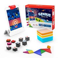 美国Osmoipad游戏儿童启蒙早教益智玩具OsmoGeniusStarterKit亲子互动游戏系统天才套件(有底座)