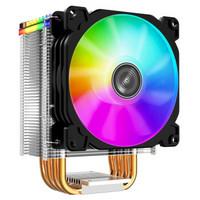 乔思伯(JONSBO)CR-1400CPU散热器电脑台式主机CPU风扇风冷RGB静音amdi5CR-14005V3针RGB